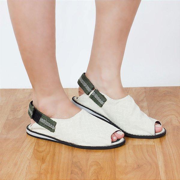 Sandália Parêa | Jangada - Branca