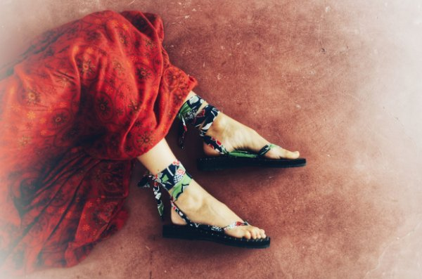 Sandália Parêa | Regata Sereia de Fita