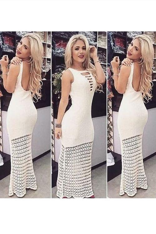 Vestido Longo Sedução