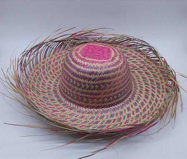 978bf3d64380f chapéu de palha junino desfiado colorido adulto kit 35 unidades ...