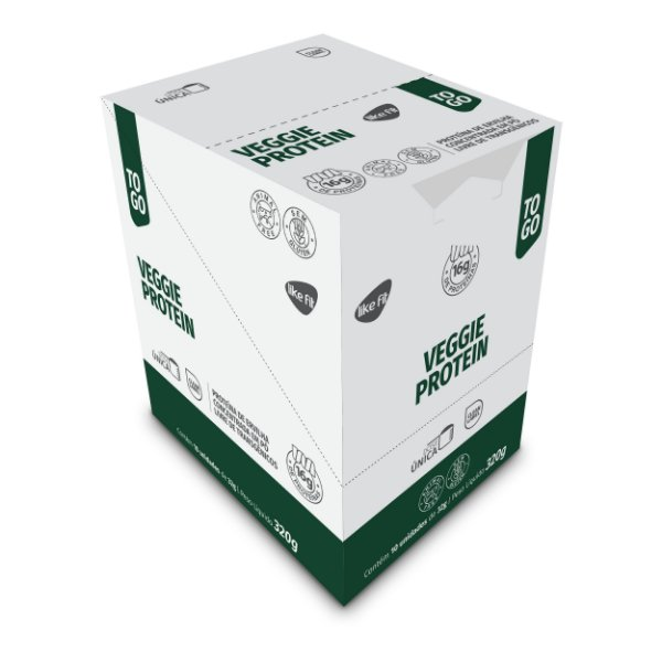 Proteína  Vegetal  (Dose 32g) - Display 10 Unid