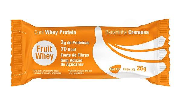 Fruit  Whey 3g Proteína - 3 Unid