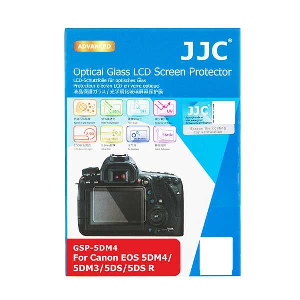 Protetor de LCD JJC GSP-5DM4 para Canon 5DM4 5DM3 5DS 5DS R