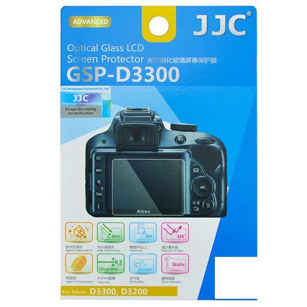 Protetor de LCD JJC GSP-D3300 para Nikon D3300 D3200 D3400 D3500