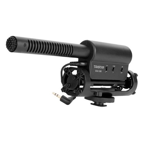 Microfone Direcional Shotgun Takstar SGC-598 Seminovo
