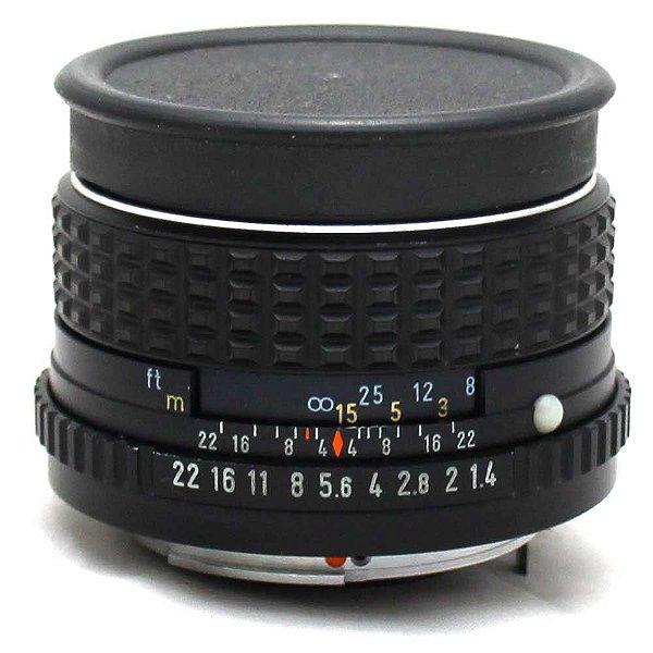 Lente Pentax-M SMC 50mm f/1.4 para Pentax K Usada