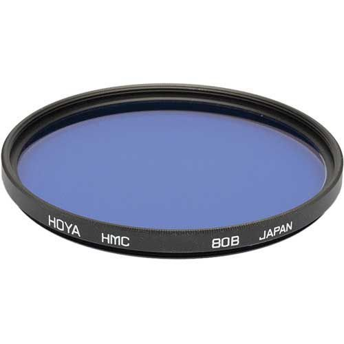 Filtro Hoya 77mm 80B para Correção de Cor