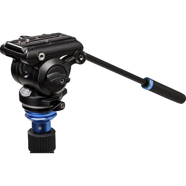 Cabeça Hidráulica Benro S4 Pro Pan/Tilt