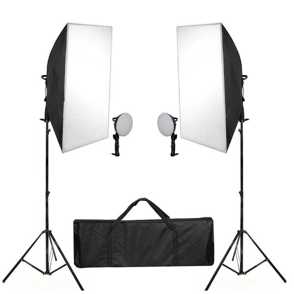 Kit de Iluminação SHLED-004 Retangular 50x70cm com Luz LED 30w Bivolt