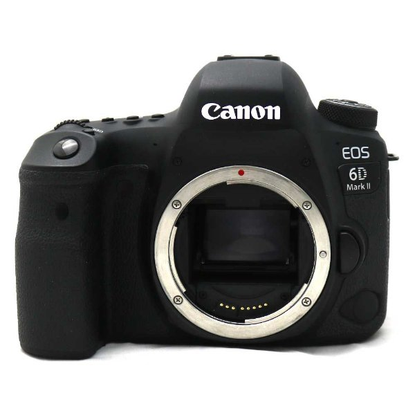 Câmera Canon EOS 6D Mark II Corpo Seminova