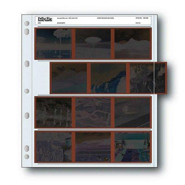 Porta Negativos 120mm Print File 120-4UB