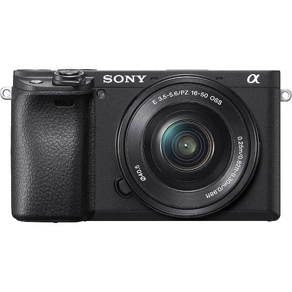 Câmera Sony Alpha A6400 Kit E-PZ 16-50mm f/3.5-5.6 OSS