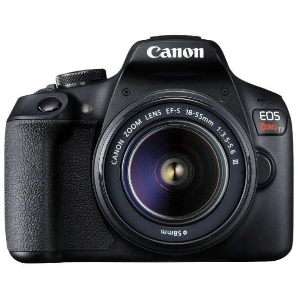 Câmera Canon EOS Rebel T7+ Kit EF-S 18-55mm f/3.5-5.6 DC III