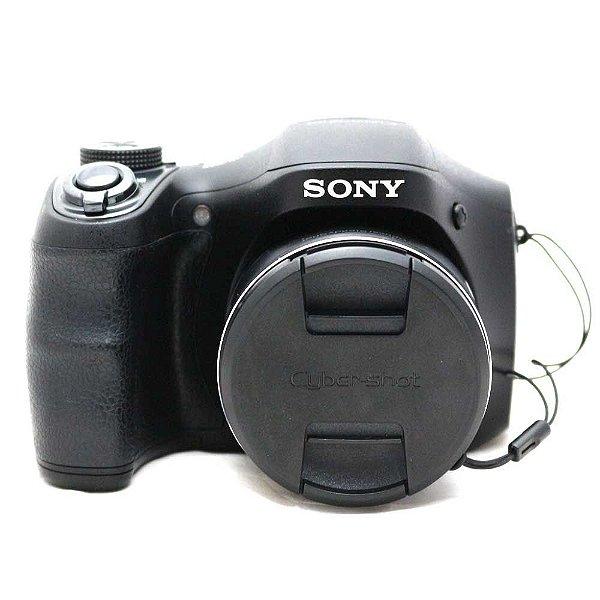 Câmera Sony Cyber-Shot DSC-H100 Usada