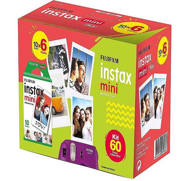 Filme Instantâneo Fujifilm Instax Mini 60 Fotos