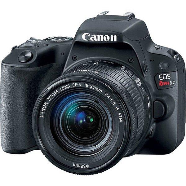 Câmera Canon EOS Rebel SL2 Kit EF-S 18-55mm IS STM