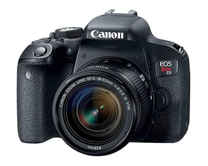 Câmera Canon EOS Rebel T7i Kit EF-S 18-55mm f/4-5.6 IS STM