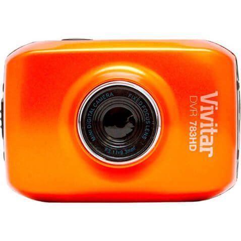Câmera de Ação Vivitar DVR-783HD Laranja