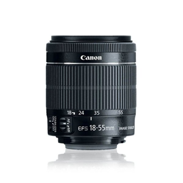 Lente Canon EF-S 18-55mm f/3.5-5.6 IS STM