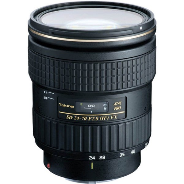 Lente Tokina AT-X PRO FX 24-70mm f/2.8 para Canon