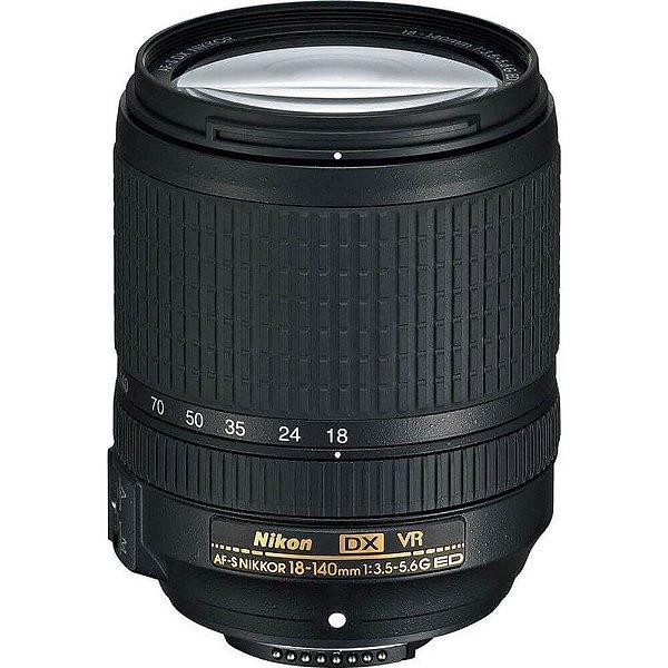 Lente Nikon AF-S DX 18-140mm f/3.5-5.6G ED VR Objetiva