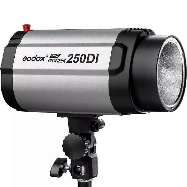 Flash para Estúdio Fotográfico Godox Mini Pioneer 250DI Tocha 110V