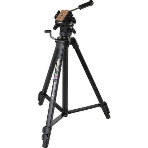 Tripé Velbon VideoMate 538 Com Cabeça Hidráulica
