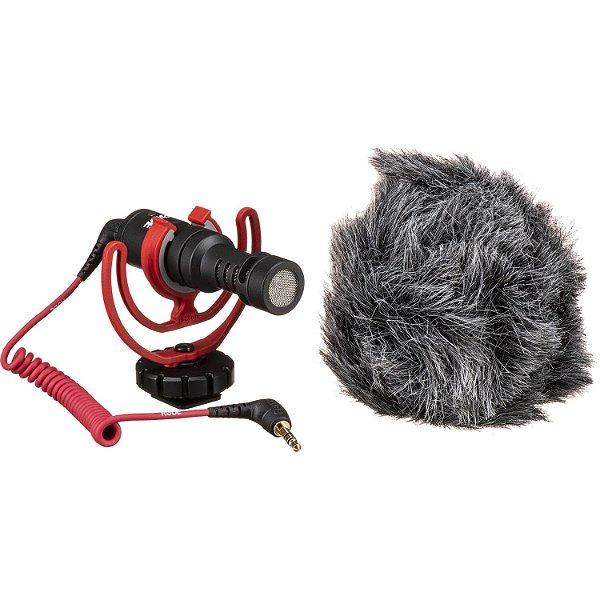 Microfone Direcional Shotgun Compacto Rode VideoMicro