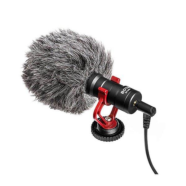 Microfone Direcional Compacto Boya BY-MM1