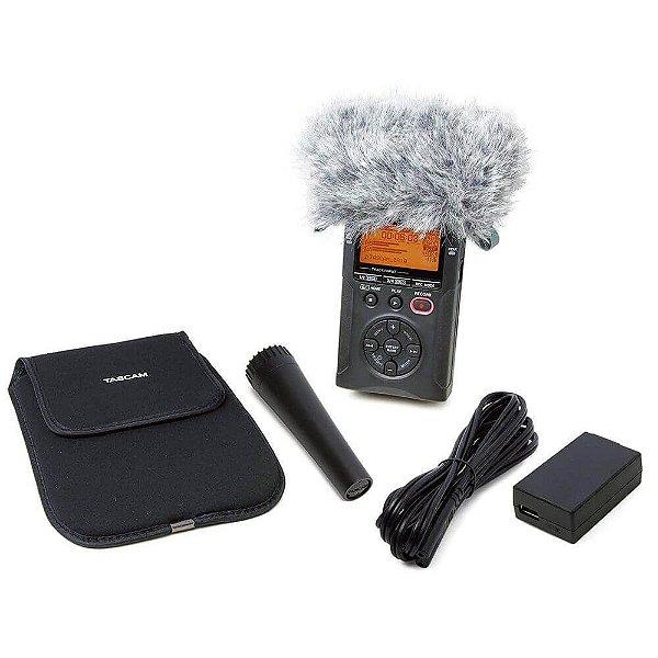 Kit Gravador Digital de Áudio Tascam DR-05X AK-DR11GMKII