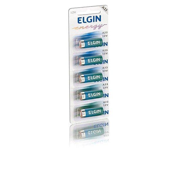Bateria Elgin A23 12v com 5 Unidades