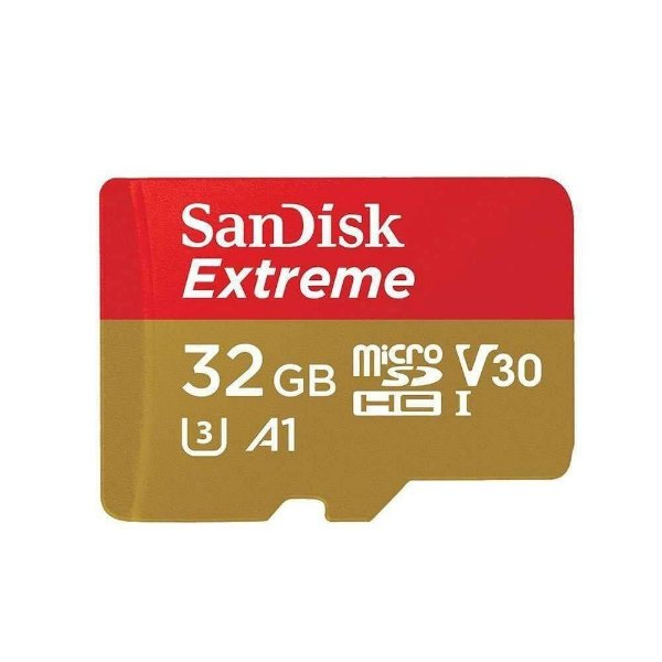 Cartão de Memória Sandisk Micro SDHC Extreme 32GB 100 MB/s