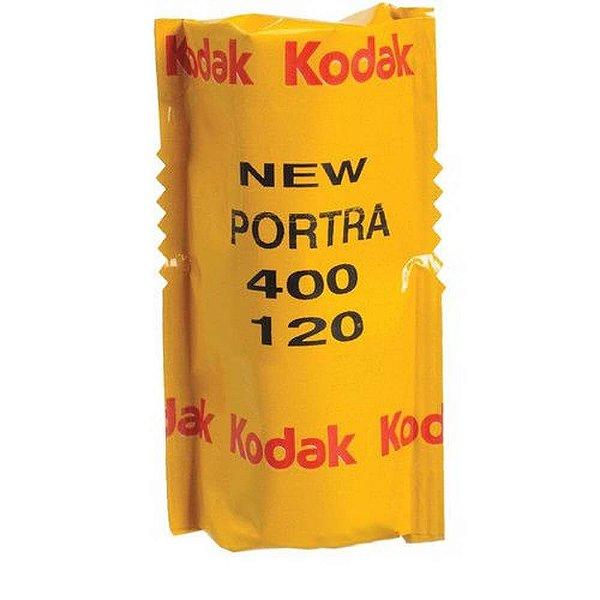 Filme Kodak Portra 400 ISO 400 120mm Colorido