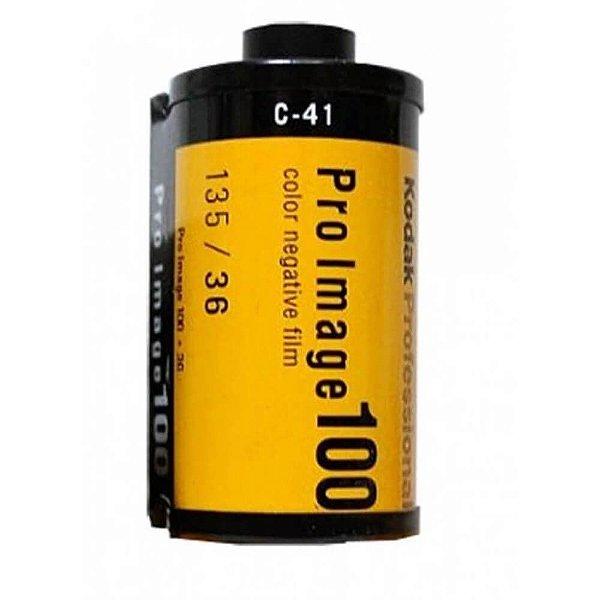 Filme Kodak Pro Image 100 ISO 100 35mm 36 Poses Colorido