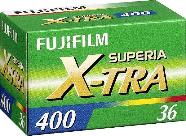 Filme Fujifilm Superia X-TRA ISO 400 35mm 36 Poses Colorido