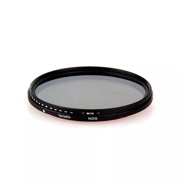 Filtro ND Variável 2-400 Greika 55mm