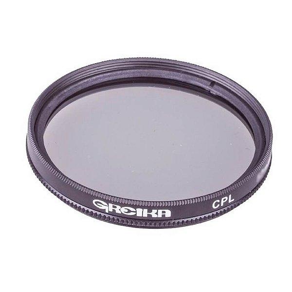 Filtro Polarizador Circular Greika 77mm