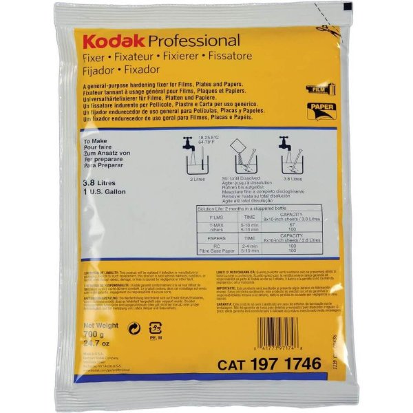 Fixador Kodak 3,8 Litros