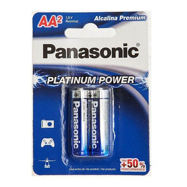 Pilha AA Panasonic 1.5v com 2 Unidades