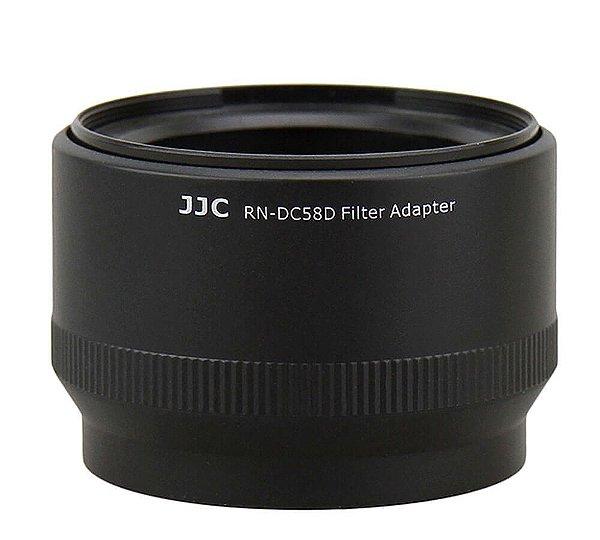 Adaptador de Filtro JJC RN-DC58D Substitui Canon FA-DC58D