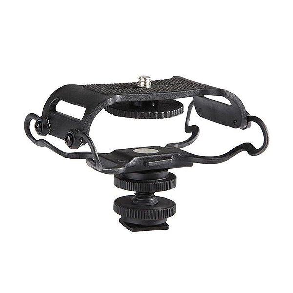 Sistema de Suspensão Boya BY-C10 para Microfones e Gravadores