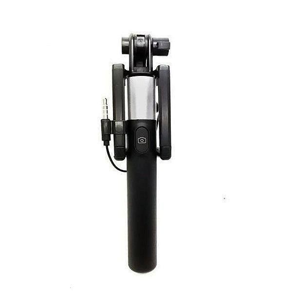 Bastão de Selfie Retrátil para Smartphones Greika LS-10 com Disparador Embutido