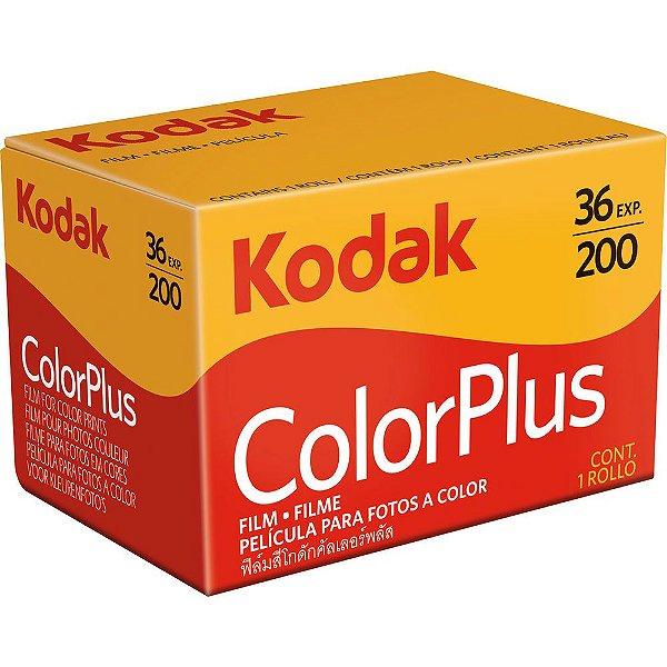 Filme Kodak ColorPlus ISO 200 35mm 36 Poses Colorido