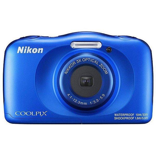 Câmera Nikon Coolpix W150 Aquática à Prova d'Água WIFI Bluetooth