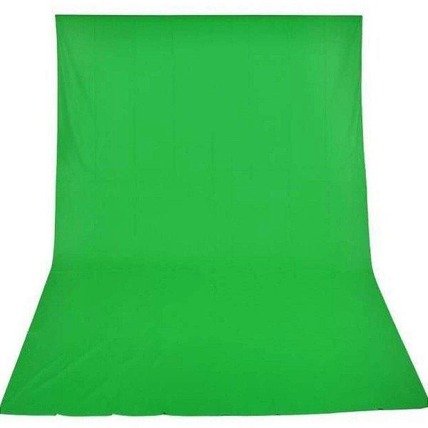 Tecido para Fundo Infinito Greika 3x5 Cor Verde Chroma key