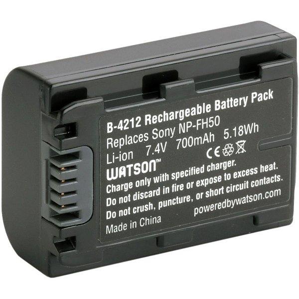 Bateria Watson B-4212 Similar Sony NP-FH50