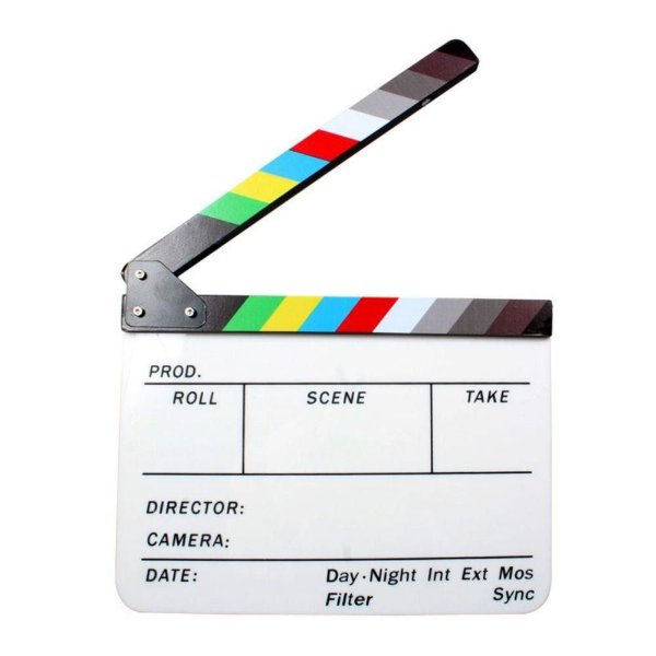 Claquete de Cinema Profissional