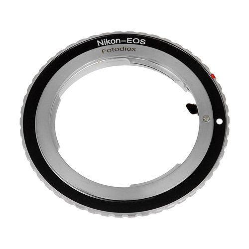 Adaptador de Lente Fotodiox Nikon F para Canon EOS EF EF-S
