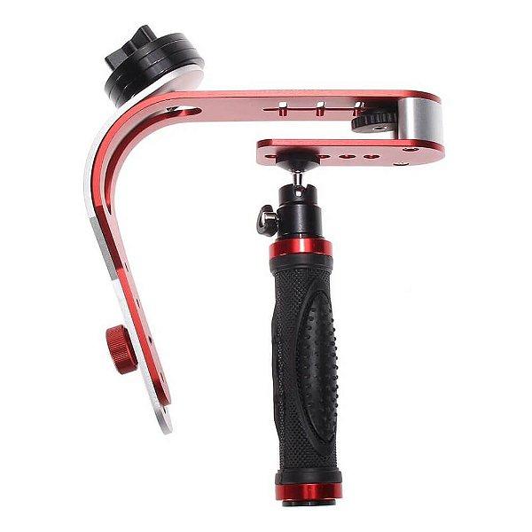 Estabilizador de Mão Steadicam para Câmeras Compactas e Celular