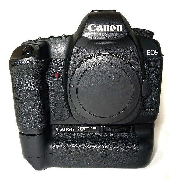 Câmera Canon EOS 5D Mark II Corpo com Grip Canon BG-E6 Usada